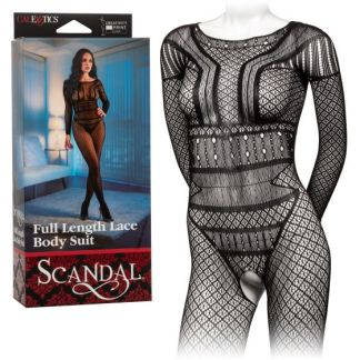 Full Length Lace Body Suit - Bodysuit - Scandal