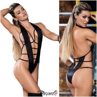Strappy Bodysuit en Wetlook - 2655 - Mapalé