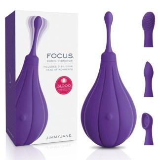 Focus Sonic Vibrator - Masseur Clitoridien Rechargeable - Jimmy Jane