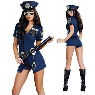 Sheila B. - Costume de Policière - 8866 - Dreamgirl
