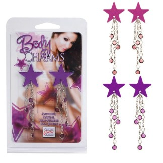 Body Charms Star - Bijoux de Seins - California Exotics