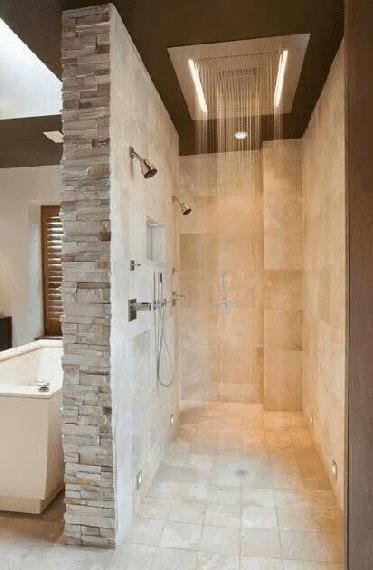 bains avec douche a l italienne