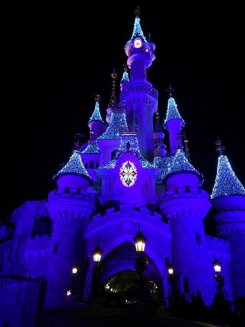 disney-chateau-nuit