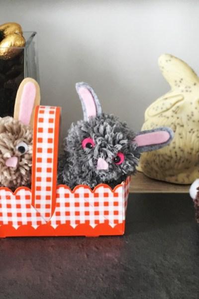 Les lapins pompons de Pâques