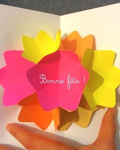 DIY : une belle carte pop-up pour la fête des mères