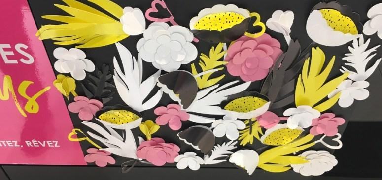 sephora fete des meres panneau fleurs