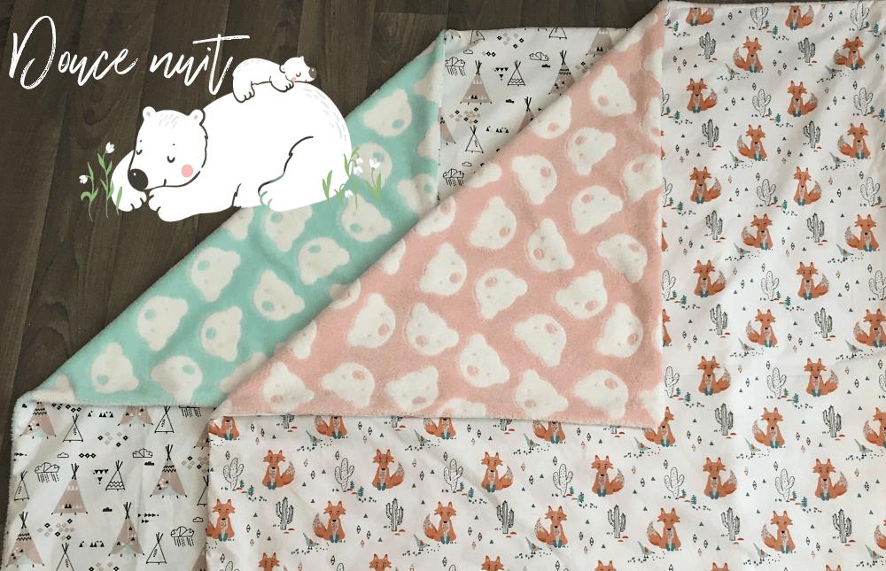 Comment coudre une couverture pour bébé - Petit cadeau de naissance