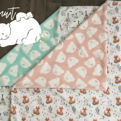 Comment coudre une couverture pour bébé – Petit cadeau de naissance