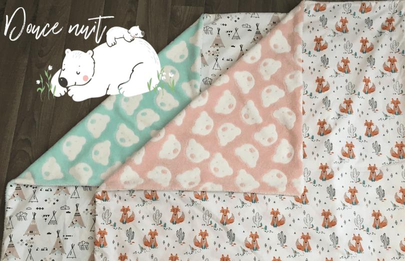 comment coudre une couverture pour bébé Comment coudre une couverture pour bébé – Petit cadeau de  comment coudre une couverture pour bébé