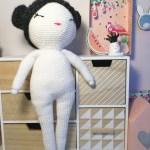 Première poupée au crochet #wip