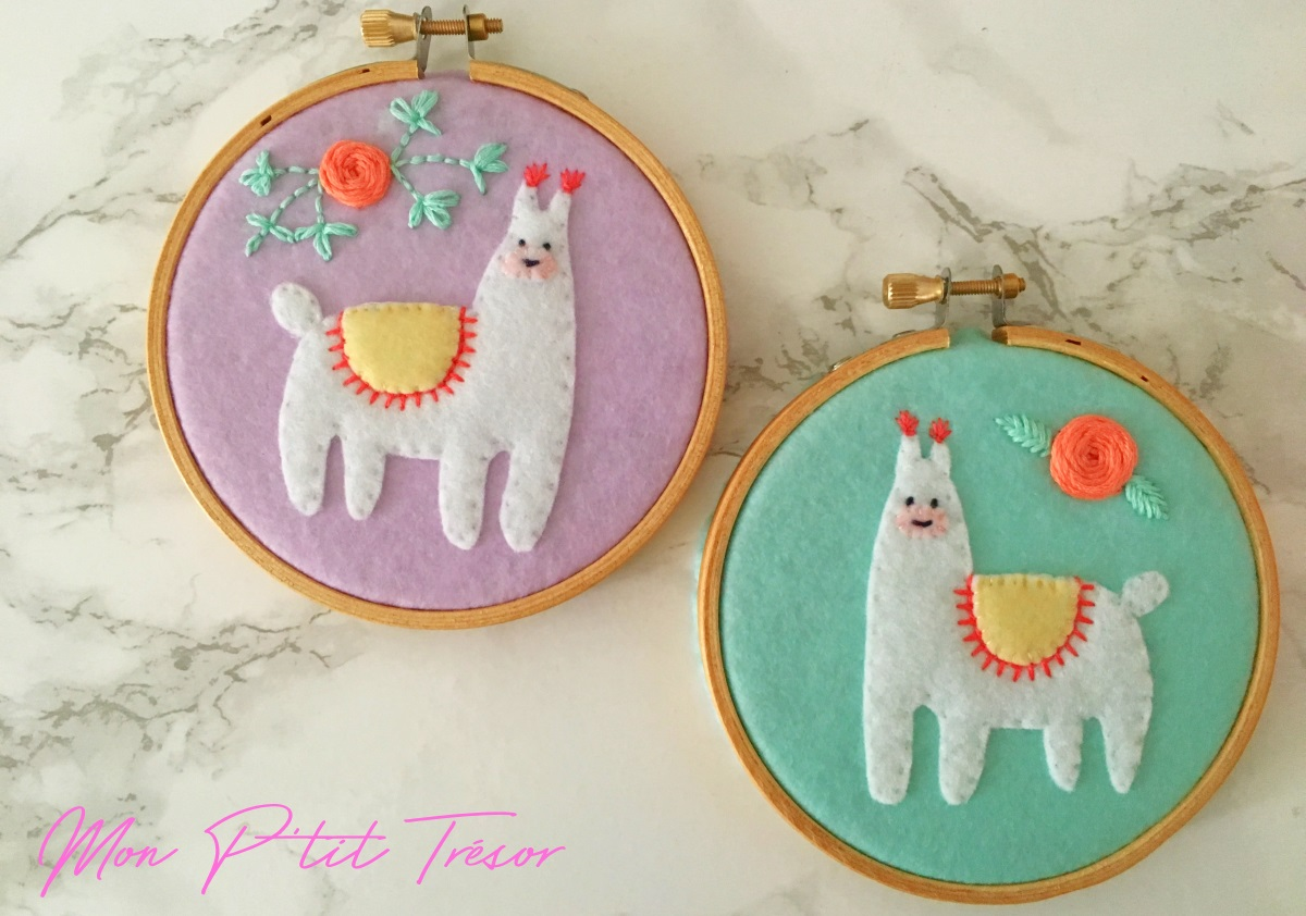 Happy llamas - Joyeux lamas