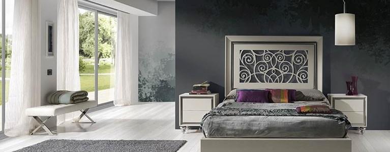 Mesita de Noche colección Alba y Camas-para-dormitorios-Alba-Tablero-Calado-Blanco