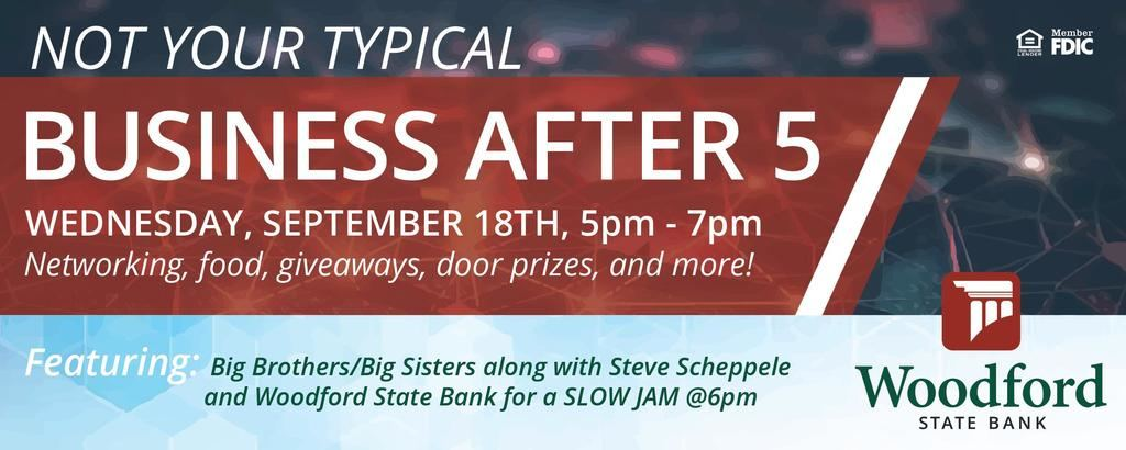 Business After 5 Woodford State Bank