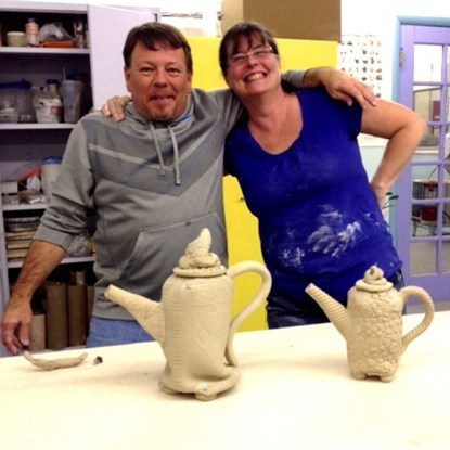 David and Bonnie's Teapots
