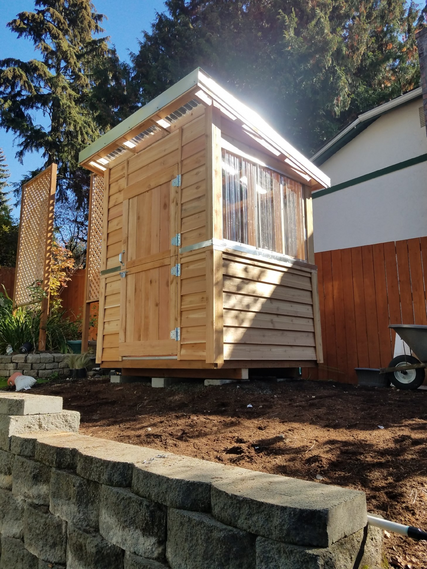 Greenhouse Shed 6x6