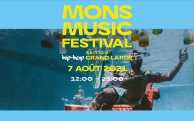 Mons Music Festival au Grand Large samedi 7 août 2021