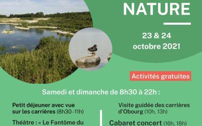 Week-end MUSE NATURE à la Maison de la biodiversité à Obourg (rue d'Empire,31) samedi 23 & dimanche 24 octobre 2021 8h30-22h