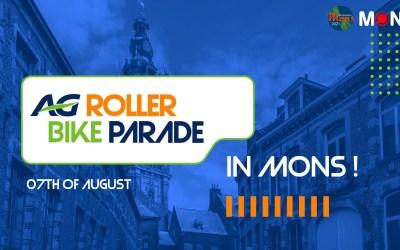 Roller Bike Parade à Mons samedi 7 août 2021 16h Place du Parc