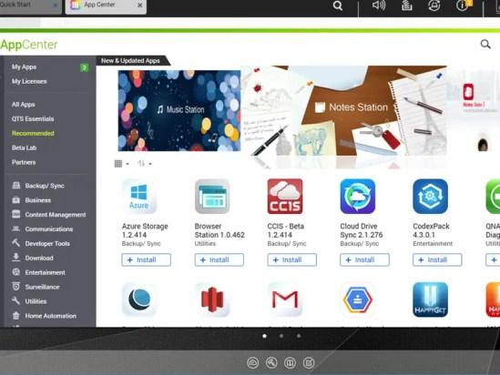 App Center qnap ts 453b