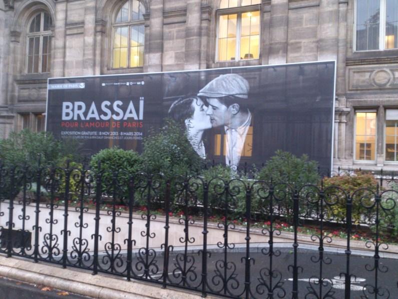 Les abords de l'exposition Brassai