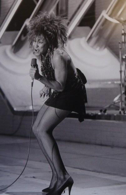 "Tina Turner à l'emission "" Champs Elysées"" en 1988"