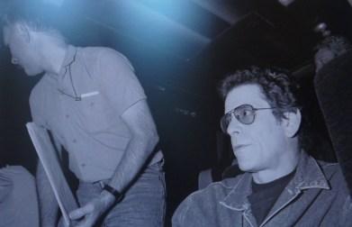 Lou Reed à Toulouse en 1989