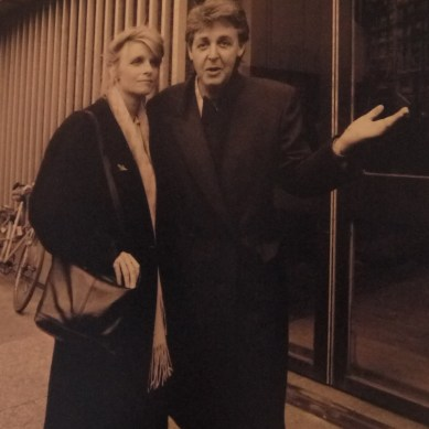 Paul et Linda Mc Cartney en 1992