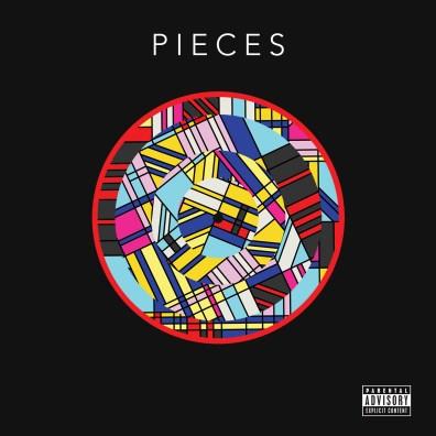 """Pochette de l'EP """"Pieces"""""""