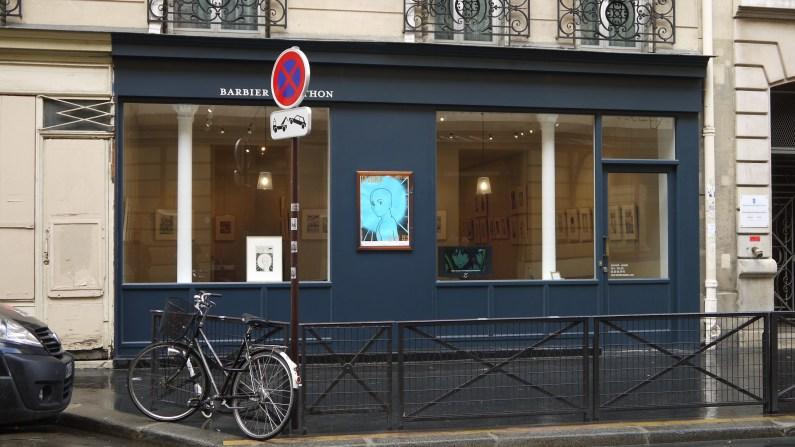 Entrée de la galerie Barbier et Mathon ©Monsieur Benedict