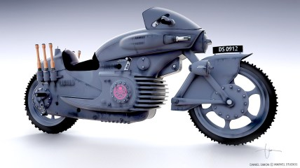 La moto de l'Hydre