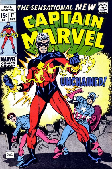 Captain Marvel par Gil Kane