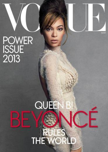 La une du magazine Vogue