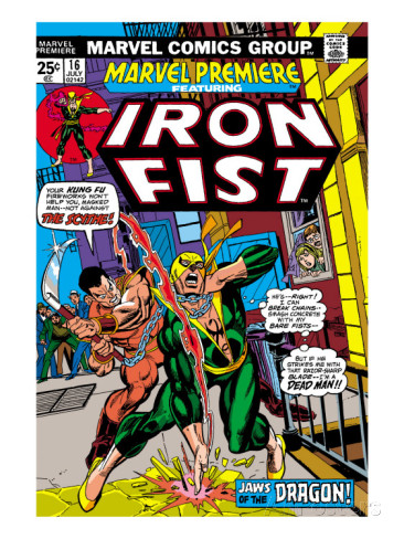 Couverture Iron Fist par Gil Kane