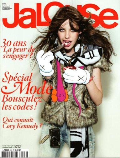 La une du magazine Jalouse