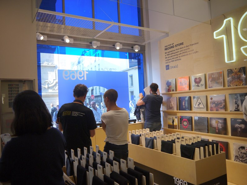 le POP UP RECORD STORE ©Monsieur Benedict