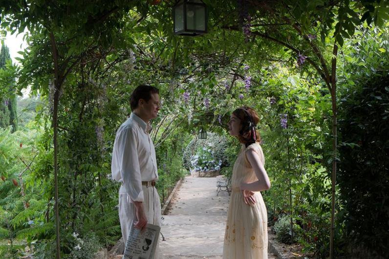 Colin Firth et Emma Stone