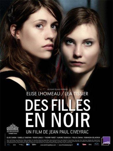 """Affiche """" Des Filles en Noir"""""""