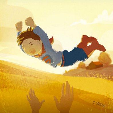 "Babies Heroes "" Superman"" © C100D17"