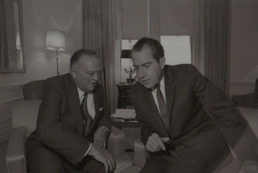 Hoover et Richard Nixon