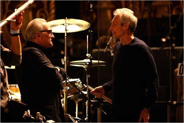 Martin Scorsese et Charlie Watts