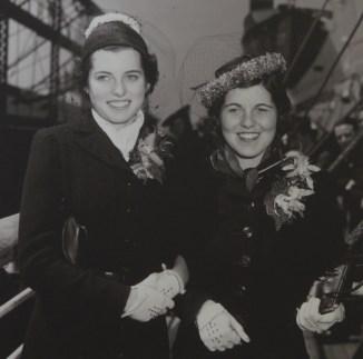 Rosemary Kennedy et sa soeur Eunice