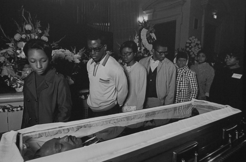 Enterrement de Martin Luther King