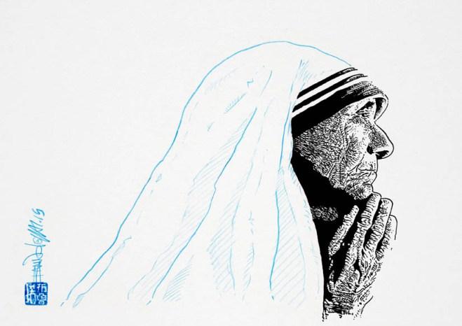Mere Teresa © Bruno Leyval