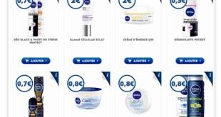 16 Bons de réductions à imprimer NIVEA de 19 € !