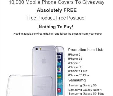 10.000 Protections pour téléphone mobile Iphone et Samsung !