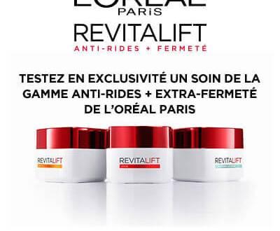 200 Produits Revitalift de L'Oréal Paris à tester