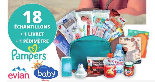 Carte Auchan Baby.20 000 Trousses De Naissance Pampers Offerte Gratuitement