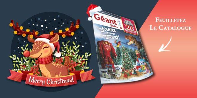 Catalogue Jouets Géant Casino Noël 2018
