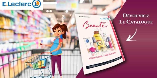 Catalogue Beauté E-Leclerc Du 22 Mai Au 02 Juin 2018