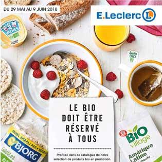 Catalogue E-Leclerc Du 29 Mai Au 02 Juin 2018